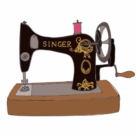 La maquina de coser de mi madre. | Máquina de costura