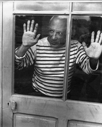 Robert Doisneau // Pablo Picasso, 1952