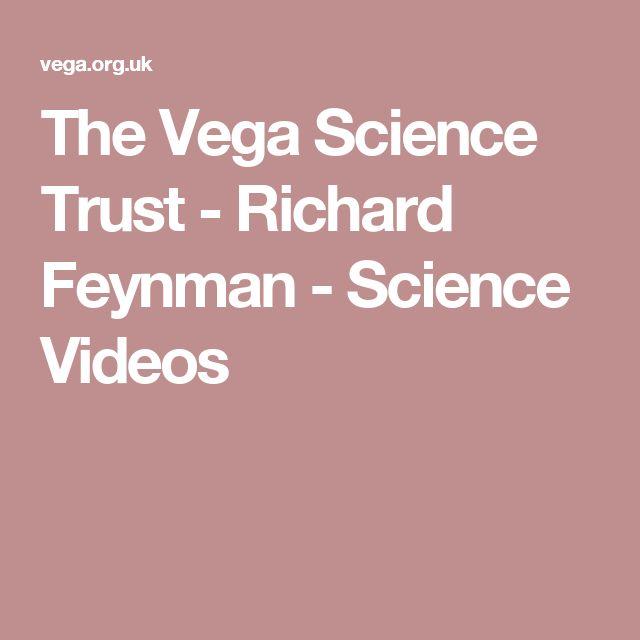 The Vega Science Trust - Richard Feynman - Science Videos