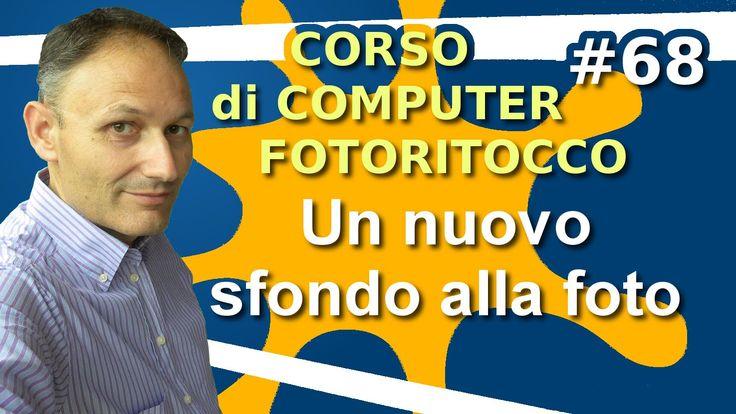 # 68 Adattare uno sfondo - Fotoritocco con Gimp - Maggiolina Corso di Co...