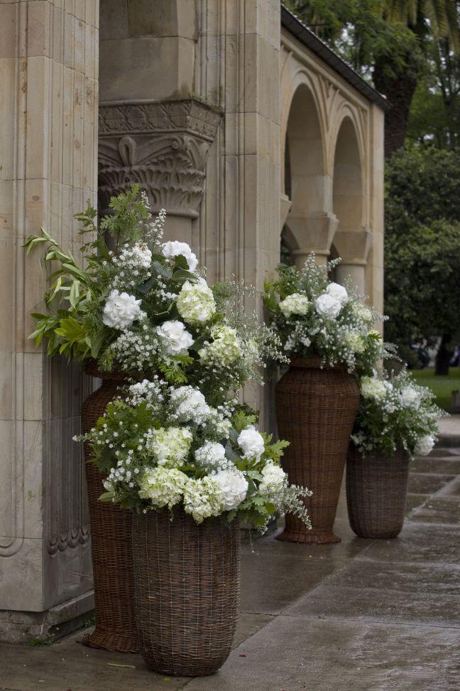 Resultado de imagen de decoracion boda con hortensias