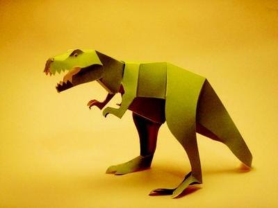 Series 200 Dinosaurs #T-Rex #paper $6.45