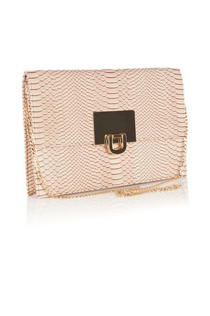 Mother of the Groom | Pinks FILIPPA SNAKE SKIN CLUTCH BAG | Coast Stores Limited