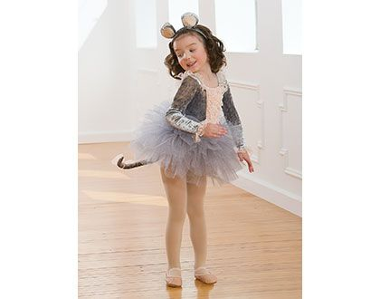 Wonderful Mouse Costume for little Ballerinas  Dance Direct