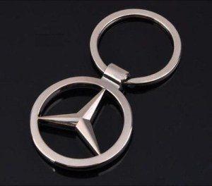 Porte clé logo Mercedes