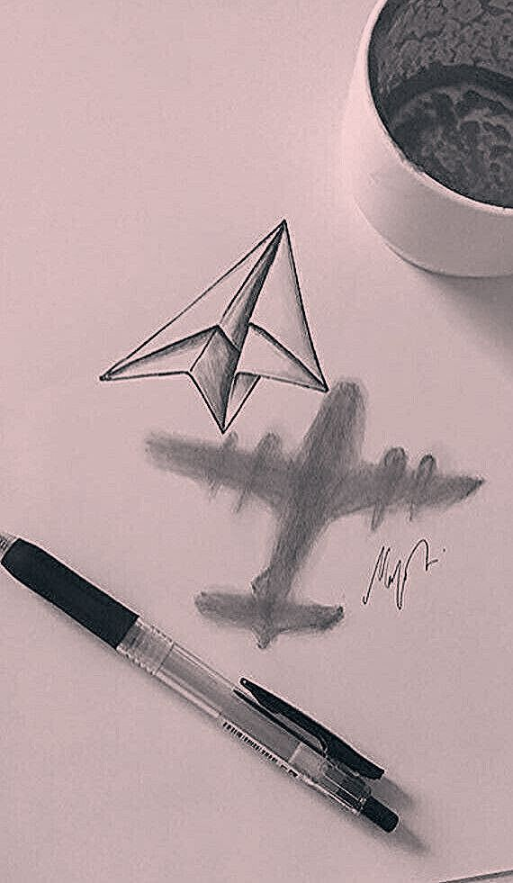 Dibujo 3d Dibujo Bleistift Kunstzeichnungen Bedeutungsvolle Zeichnungen Kunst Skizzen