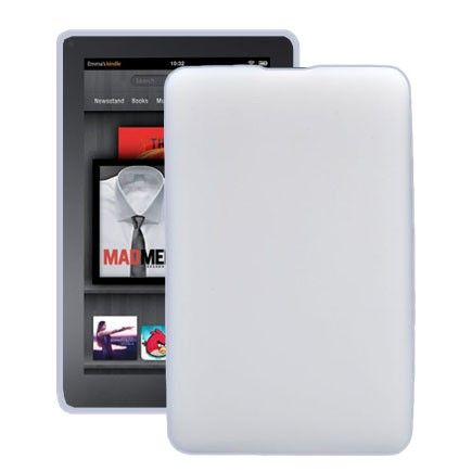 Soft Shell (Hvit) Amazon Kindle Fire Deksel