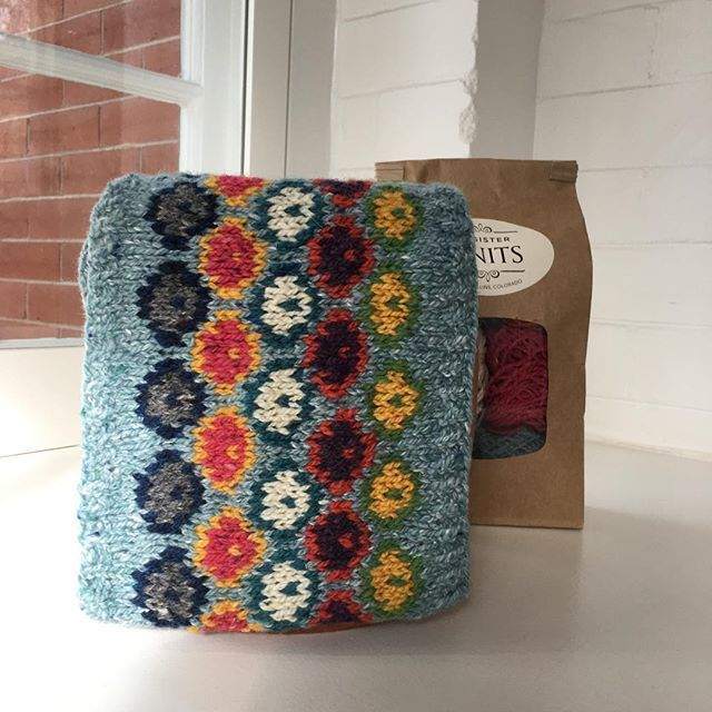 We did it! Kits are now available for Jeannie Giberson's color work class! Kits contain all the yarn for this incredible cowl, with a little extra for play. Kit retails for $45.00. Call My Sister Knits for class sign up.  970-407-1461 #mysisterknits  #jeanniegibersondesigns  #learningthroughplay