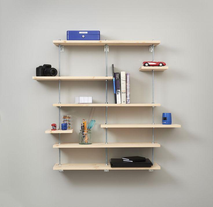 Tee-se-itse:Seinähyllykkö. Tarvitsemasi tuotteet ja ohjeet löydät nettisivuiltamme.