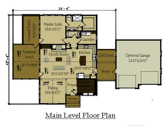 106 best house plans images on pinterest cabin house for Wedowee lake level
