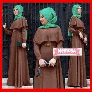 baju gamis muslim memosa
