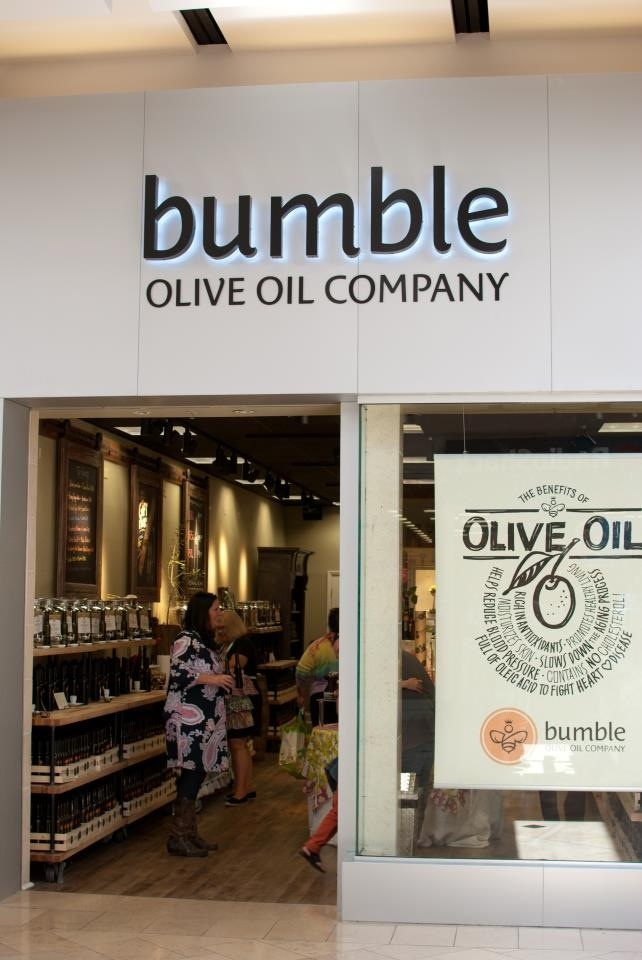 Bumble olive oil company flavored olive oils and balsamic for Craft store destin fl