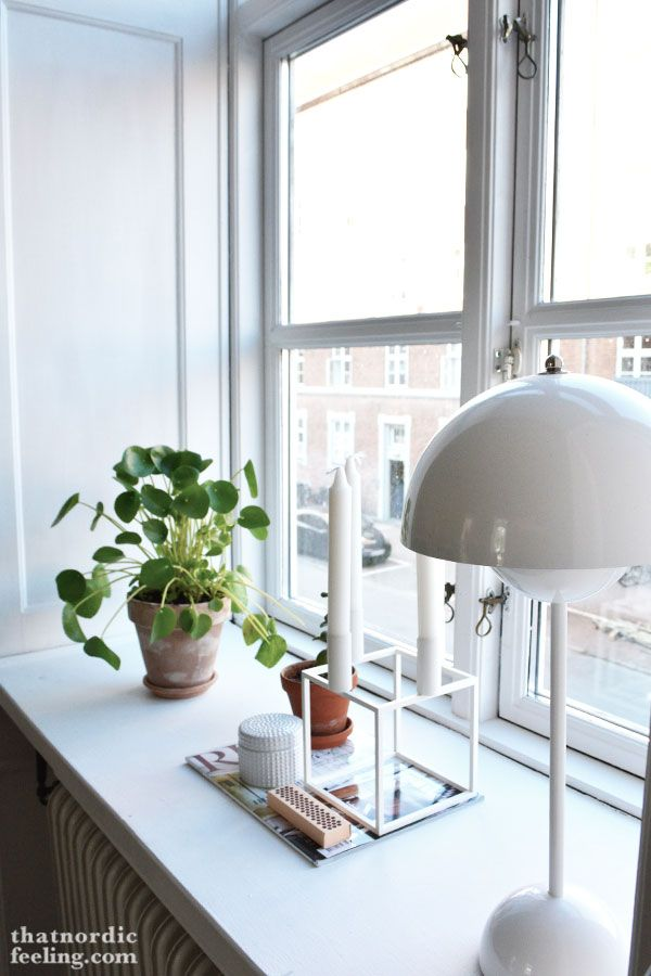 Window sill via that nordic feeling