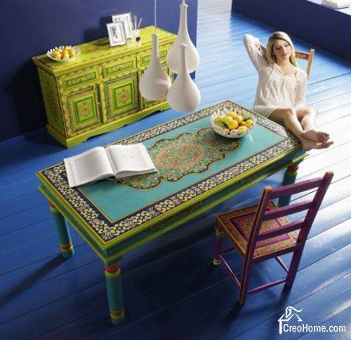 Расписная мебель с Ибицы от Kare Design