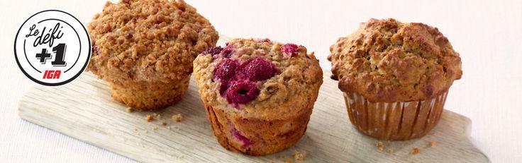 Muffins | Recettes de base | IGA