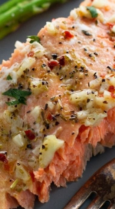 silver bead bracelets Garlic Butter Baked Salmon In Foil Recipe