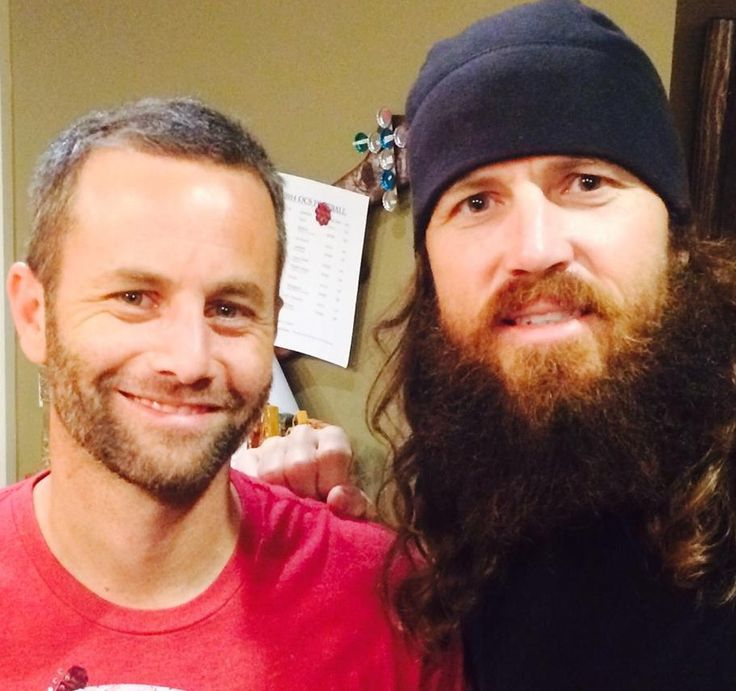 """KIRK CAMERON SPENDS 44TH BIRTHDAY WITH DUCK DYNASTY'S ROBERTSON FAMILY - """"Hunting, eating, laughing, praying...and more eating and hunting!  BEST. DAY. EVER!"""""""