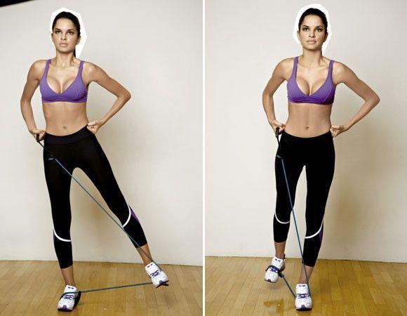 Série de treino funcional para definir os músculos e secar as curvas Treino localizado