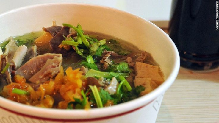 Duck-bone stock, duck blood, bits of duck organ -- doesn't sound like the most glorious dish ever but a good bowl comes with the comforting taste of home for many Chinese.