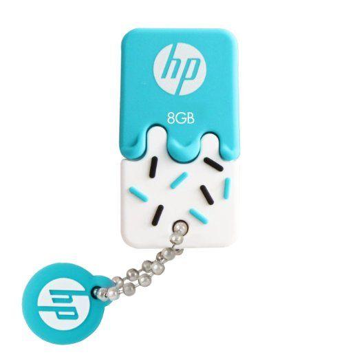 Amazon.co.jp: HP ヒューレット・パッカード アイスクリーム USBメモリ (8GB, v178b - USB 2.0 / ブルー アイスクリーム ゴム製 耐衝撃 防滴 防塵): パソコン・周辺機器