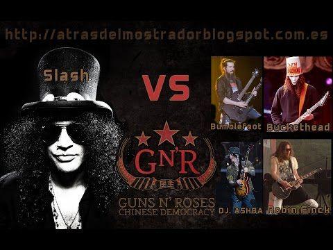 Slash VS Chinese Democracy Guitars (Bumblefoot, Bucketed, D.J. Ash, Robin Finck) - Tronnixx in Stock - http://www.amazon.com/dp/B015MQEF2K - http://audio.tronnixx.com/uncategorized/slash-vs-chinese-democracy-guitars-bumblefoot-bucketed-d-j-ash-robin-finck/