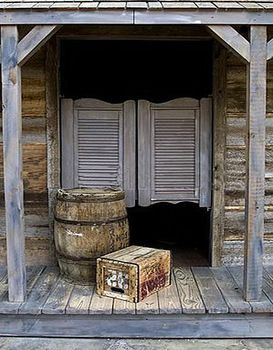 Check - Western Style Saloon photo backdrop  - $25