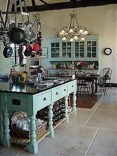 farmhouse kitchen....love it