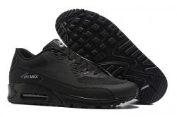 Classic Nike Air Max 90 Ultra 2. 0 Essential All Black Men's/Women's Running Shoes Sneakers 875695 002
