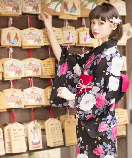 Tamashiro Tina 玉城ティナ X INGNI yukata - 2013