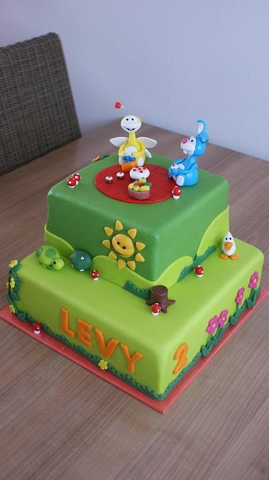 Uki cake!! :) @Aimée Gillespie Nash