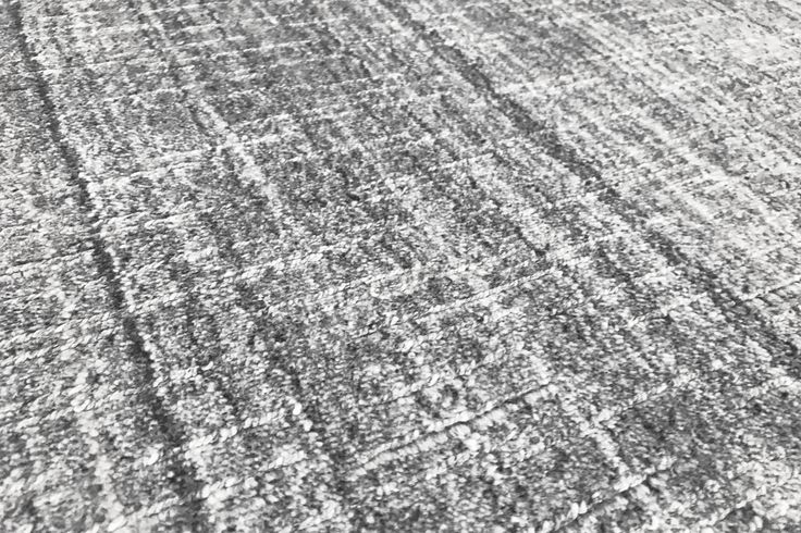 NOLITA Details- New collection- #sergelesage  A tone-on-tone rug with a raw, textured look