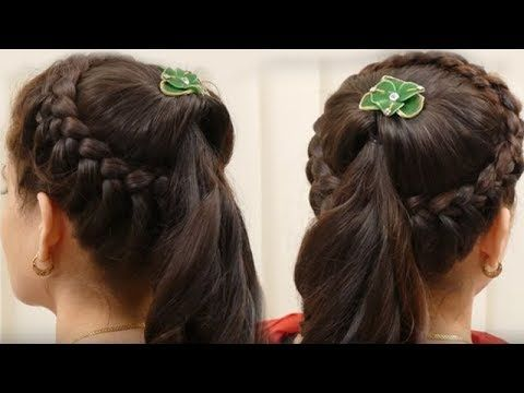 Best Ladies Hair Style Video Ideas On Pinterest Curl Hair - Hairstyle girl 2017 video