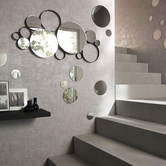 les 25 meilleures id es de la cat gorie miroir rond sur. Black Bedroom Furniture Sets. Home Design Ideas