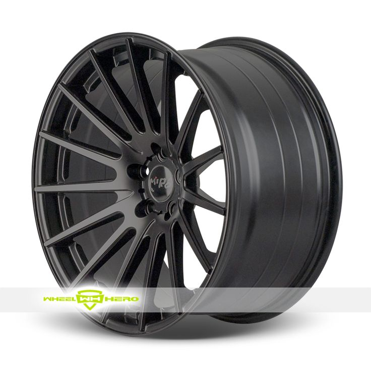 Miro Type 110 Black Wheels For Sale  - For more info:  http://www.wheelhero.com/customwheels/Miro/Type-110-Black