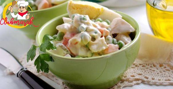 Resep Menu Utama, Russian Salad, Salad Sehat Untuk Diet, Club Masak