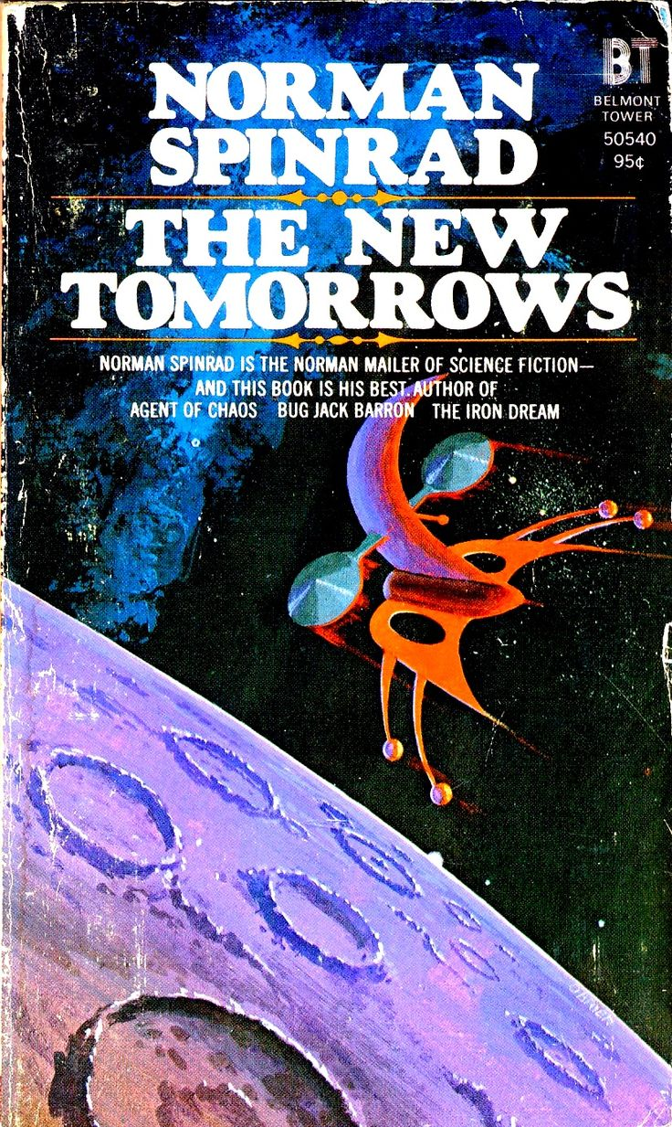 Modern Science Fiction Book Covers : Norman spinrad the new tomorrows normanspinrad scifi