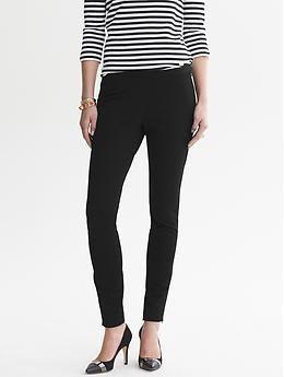 The most comfortable pants ever. Sloan-Fit Slim Ankle-Zip Pant   Banana Republic