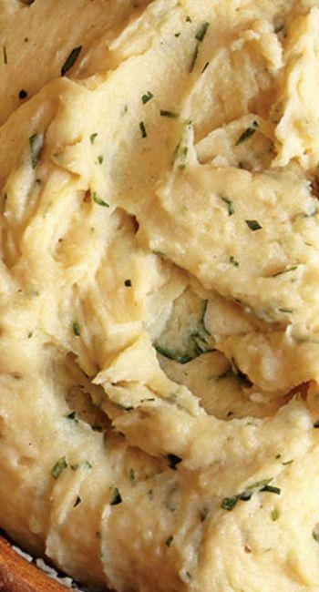 Julia Child's Garlic Mashed Potatoes