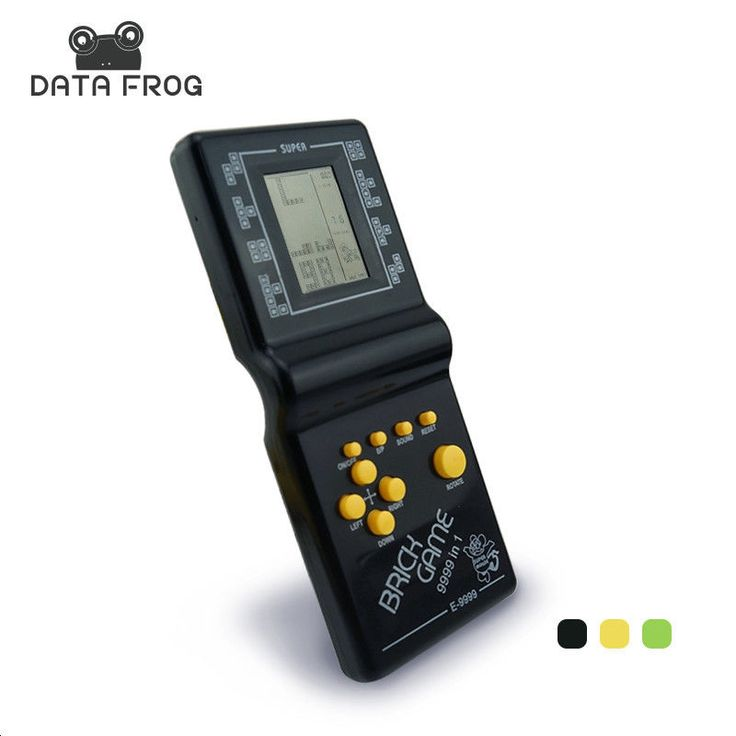 Handheld Tetris Electronic Game Old School Players LCD Toys Console Educational #HandheldTetris