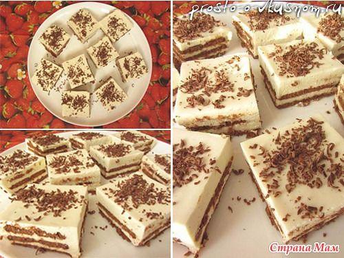 Обалденный торт, за 20 минут, БЕЗ ВЫПЕЧКИ!