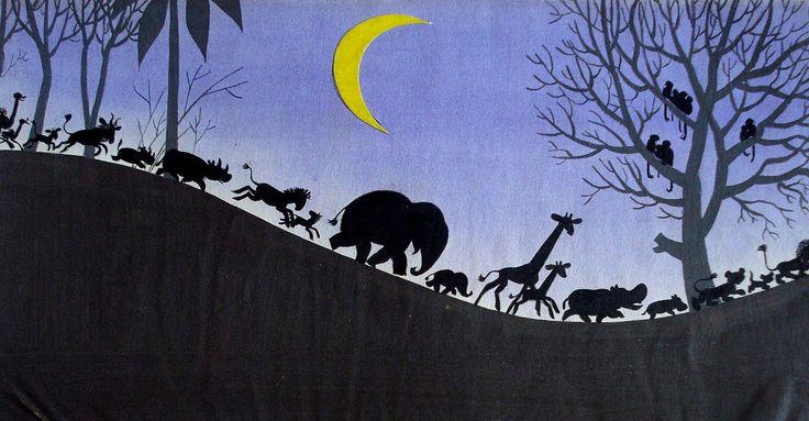 Óvoda az őserdőben, 1960-as évek - F. Györffy Anna
