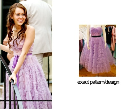 Miley Cyrus Dress From The Movie Last Song