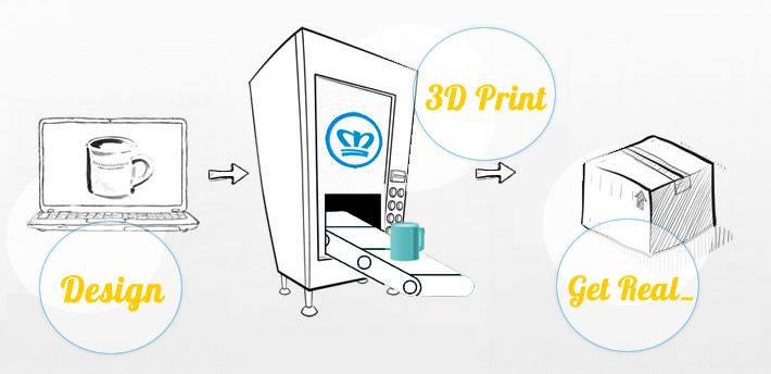 3D Printing made simple for every day artists! Upload your 2D/3D designs and get 3D Printed objects of high quality!    www.materealise.com