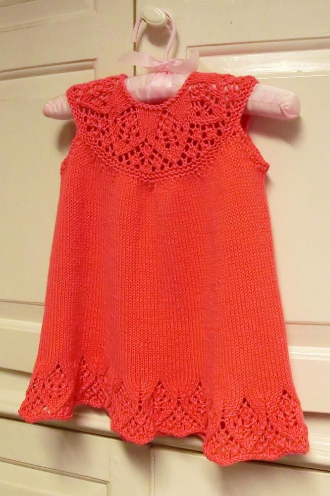 Knitting Pattern for a cute baby and child