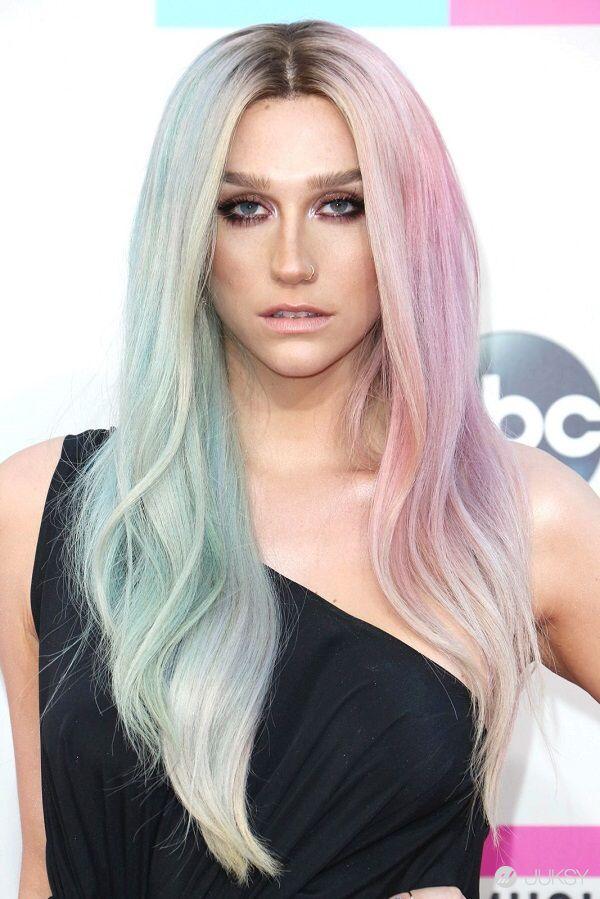 50 Shades Of Rainbow Hair Kesha The Fierce Pinterest Hair