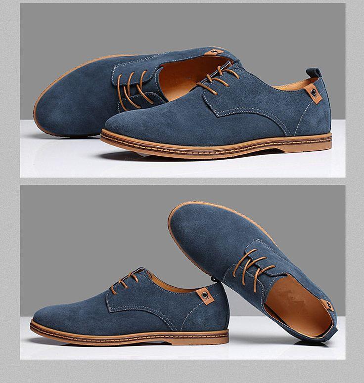 zapatos de gamuza para hombre - Compra lotes baratos de zapatos de ...