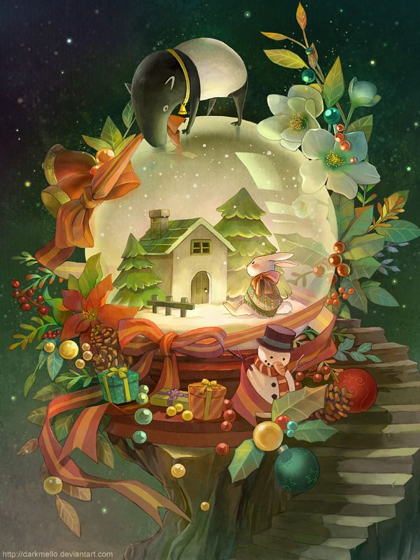 Christmas by Melani Sie