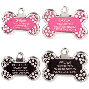 Pi's Bling: Dogs Id Tags, Summer Names Tags, Personalized Dogs, Tagwork Blingz, Summer Petssenti, Blingz Personalized, Petsmart 1950, Dogs Tags, Personalized Bones