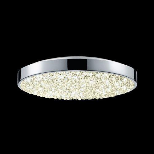 Dazzle Polished Chrome LED Surface Mount Sonneman Flush Mount Flush & Semi Flush Lighting