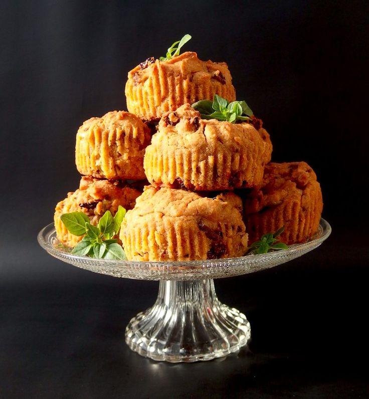 Suolaiset muffinit vegaaninen gluteeniton